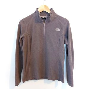 The North Face 1/4 zip Fleece Sweater